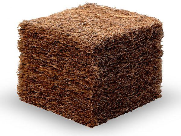 Kokos fibrer Latex